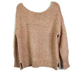 American Eagle Womens Sweater S Pink Oversized